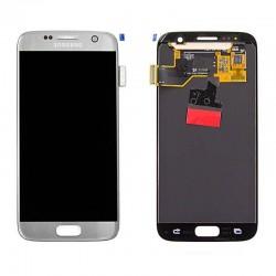 Samsung S7 Silver LCD & Digitiser Complete G930f GH97-18523B