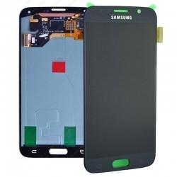 Samsung S6 Blue Black LCD & Digitiser Complete G920F GH97-17260A