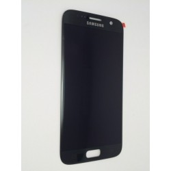 Samsung S7 Black LCD & Digitiser Complete G930F GH97-18523A