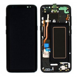 Samsung S8 Black LCD & Digitiser Complete G950f GH97-20457A