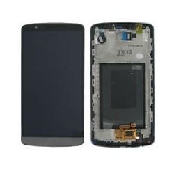 LG G3 Grey LCD & Digitiser with frame D855 D850