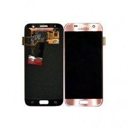 Samsung S7 Pink Rose Gold LCD & Digitiser Complete G930F GH97-18523E