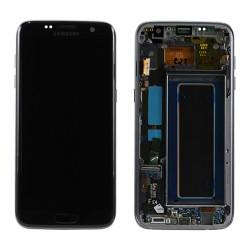 Samsung S7 Edge Black LCD & Digitiser Complete G935F GH97-18533A