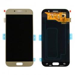 Samsung A5 2017 Gold Sand LCD & Digitiser Complete A520f GH97-19733B