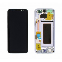 Samsung S8 Orchid Grey LCD & Digitiser Complete G950f GH97-20457C