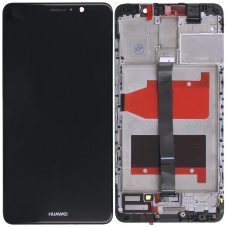 Huawei Mate 9 Black LCD & Digitiser Complete with Frame MHA-L09 MHA-L29 -  WS Parts