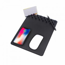 Wireless Qi Charging Pad Mouse Mat