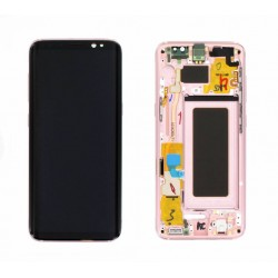 Samsung S8 Rose Pink LCD & Digitiser Complete G950f GH97-20457E