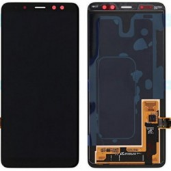 Samsung A8 Black LCD & Digitiser Complete A530f GH97-21406A