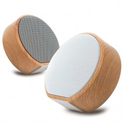 A60 Wood Effect Bluetooth Speaker
