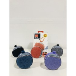 C6 Fabric Bluetooth Speaker with LED (5 colours)