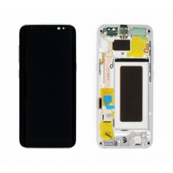 Samsung S8 Silver LCD & Digitiser Complete G950f GH97-20457B