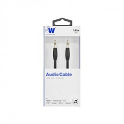 Just Wireless 1.8M 3.5mm Aux Cable