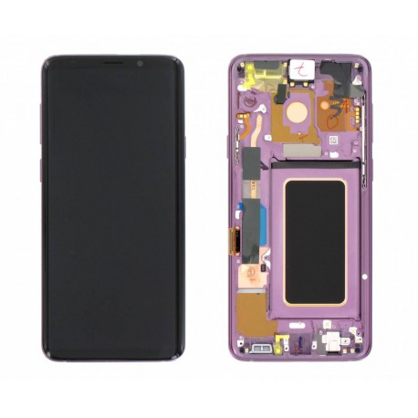 Samsung S9 Plus Lilac Purple LCD & Digitiser Complete G965f GH97-21691B