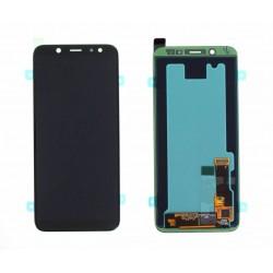 Samsung A6 2018 Black LCD & Digitiser Complete A600f GH97-21897A