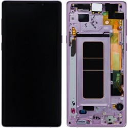 Samsung Note 9 Lavender Purple LCD & Digitiser Complete N960f GH97-22269E