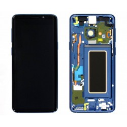 Samsung S9 Coral Blue LCD & Digitiser Complete G960f GH97-21696D