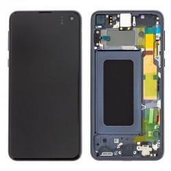 Samsung S10E Prism Black LCD & Digitiser Complete G970f GH82-18852A