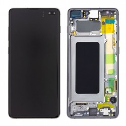 Samsung S10 Plus Black LCD & Digitiser Complete G975f GH82-18849A
