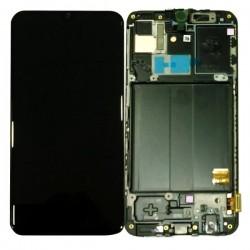 Samsung A40 Black LCD & Digitiser Complete A405f GH82-1967A
