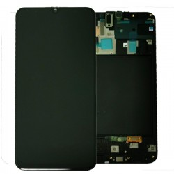 Samsung A70 Black LCD & Digitiser Complete A705f GH82-19204A