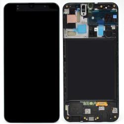 Samsung A50 Black LCD & Digitiser Complete A505f GH82-19204A