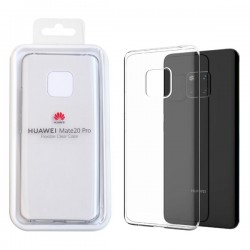 Genuine Huawei Mate 20 Pro Protective Cover Clear
