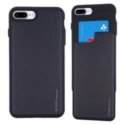 Mercury Slide Bumper Card Holder Case for iPhone 8 Plus / iPhone 7 Plus