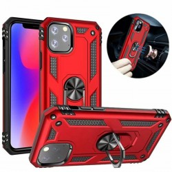 iPhone 11 Pro Max Armour Case with Ring Mount Stand (Multiple Colours)