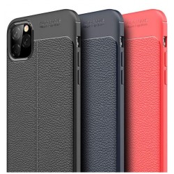 iPhone 11 Pro Max Auto Focus Vegan Leather Gel Case