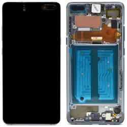 Samsung S10 5G Prism Black LCD & Digitiser Complete G977f GH82-20442B