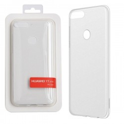 Genuine Huawei Y7 2018 Protective Cover Clear