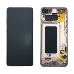 Samsung S10 Plus Ceramic White LCD & Digitiser Complete G975f GH82-18849J