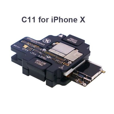 MiJing C11 Upgrade Main Board Function Testing Fixture for iPhone X
