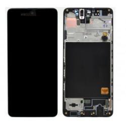 Samsung A51 Black LCD & Digitiser Complete A515f GH82-21669A