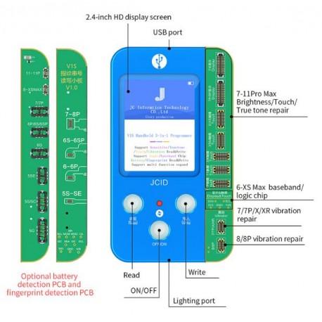 JC V1S 4-in-1 iPhone Truetone, Touch, Brightness & Battery Programmer