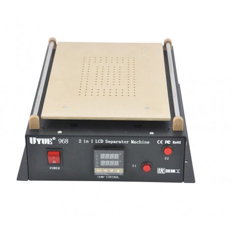 UYUE 968Q iPad & Phone Dual Pump Vacuum Heat Bed Separator Machine