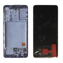 Samsung A41 Black LCD & Digitiser Complete A415f GH82-22860A