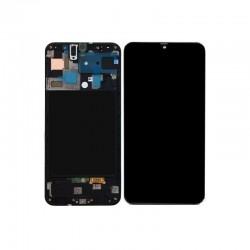 Samsung A71 Black LCD & Digitiser Complete A715f GH82-22152A