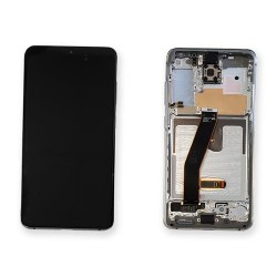 Samsung Galaxy S20 Cloud White LCD & Digitiser Complete G980f G981f GH82-22131B