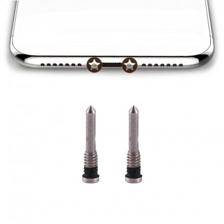 5x iPhone X Bottom Screws (2 colours)