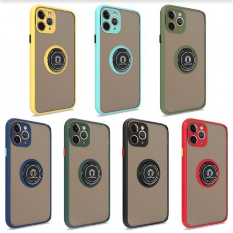 iPhone 12 Mini Ring Pull Armour Case (5 Colours)