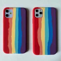 iPhone 12 Mini Rainbow Case