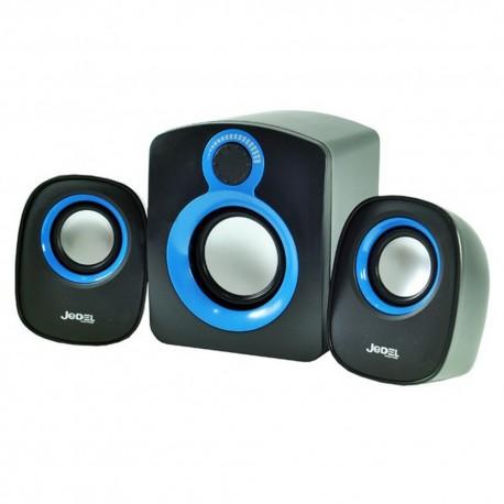 Jedel SD003 Compact 2.1 Desktop USB Speakers