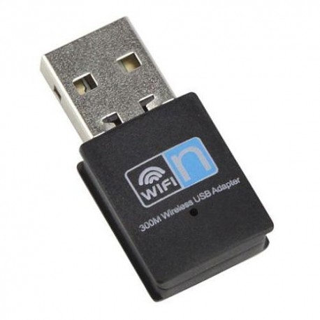 Nano USB 300Mbps Wireless N USB Adapter