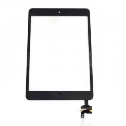 iPad Mini 1 & 2 Black Digitiser with Home Button
