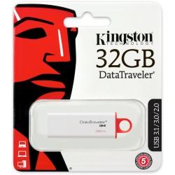 Kingston DataTraveler G4 32GB USB 3.0 Red USB Flash Drive