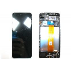 Samsung A12 Black LCD & Digitiser Complete A125f GH82-24490A