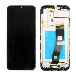 Samsung A02s Black LCD & Digitiser Complete A025f GH82-24490A