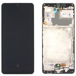 Samsung A42 5G Black LCD and Digitiser A426B GH82-24376A